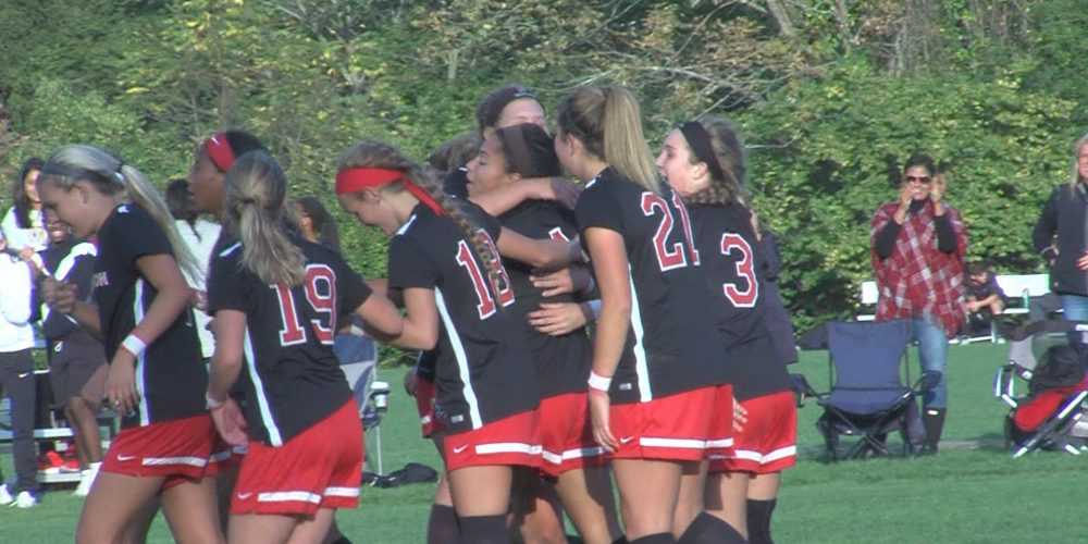 Pennington girls soccer shuts out Princeton Day School 3-0
