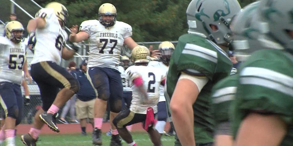 Watch Freehold Boro 35 Colts Neck 28 week 6 highlights