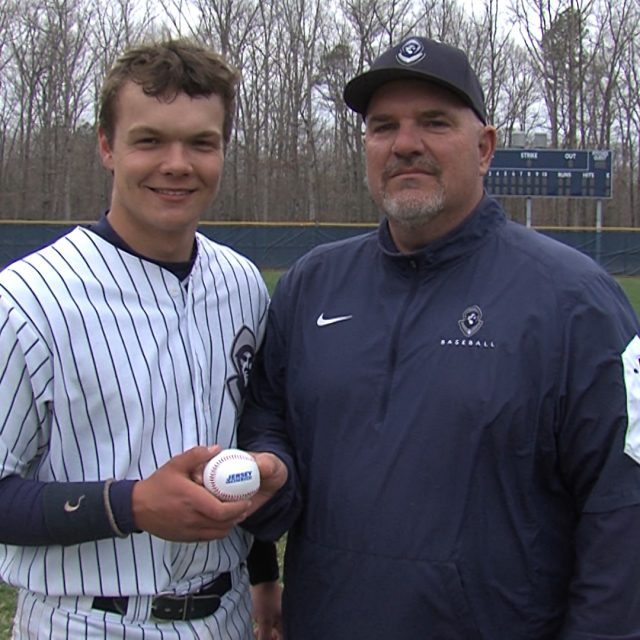 Hermits Furey wins NJM Insurance South Jersey Week One Game Ball