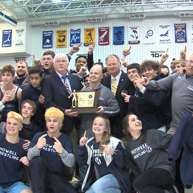 Rebels win first wrestling state title!
