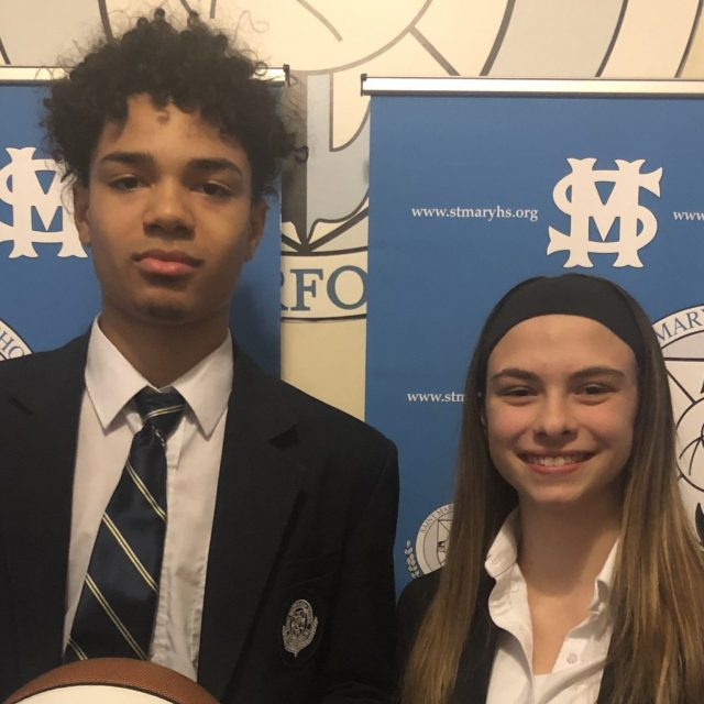 St. Mary (Ruth.) Takes Home Both North Jersey Game Balls