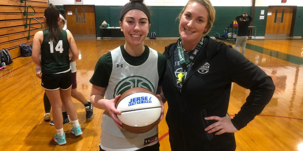 Natalie Mehl of Steinert wins NJM South Jersey Game Ball!