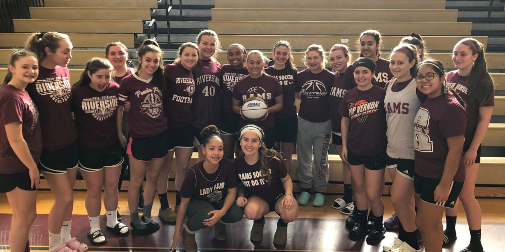 Hailey Russell of Riverside wins NJM Girls South Jersey game Ball!