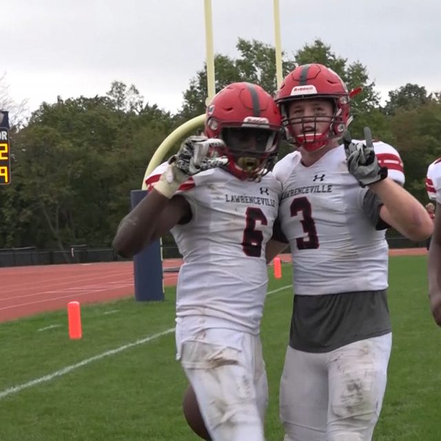 Watch Lawrenceville 18 Peddie School 16 week 6 highlights