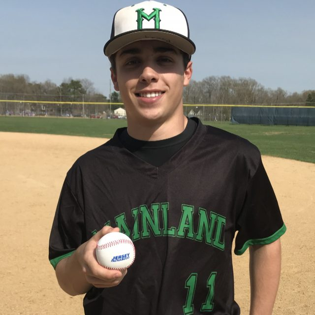Mainland's Brody Levin Wins NJM Insurance Week 2 Game Ball