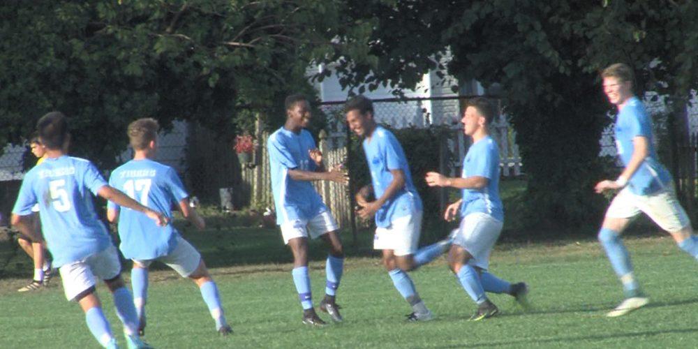 Watch Princeton 1 Nottingham 0 boy's soccer highlights