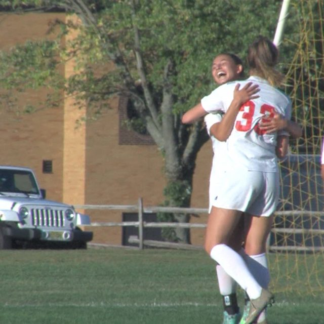 Allentown girl's soccer remains perfect against Princeton