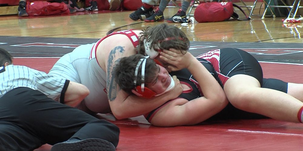 Rancocas Valley Wrestlers Explode With Five Quick Pins
