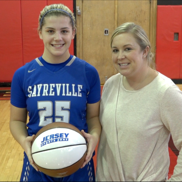 Sayreville's Jackie Ventricelli Wins Alex's North Jersey Game Ball! Watch Presentation