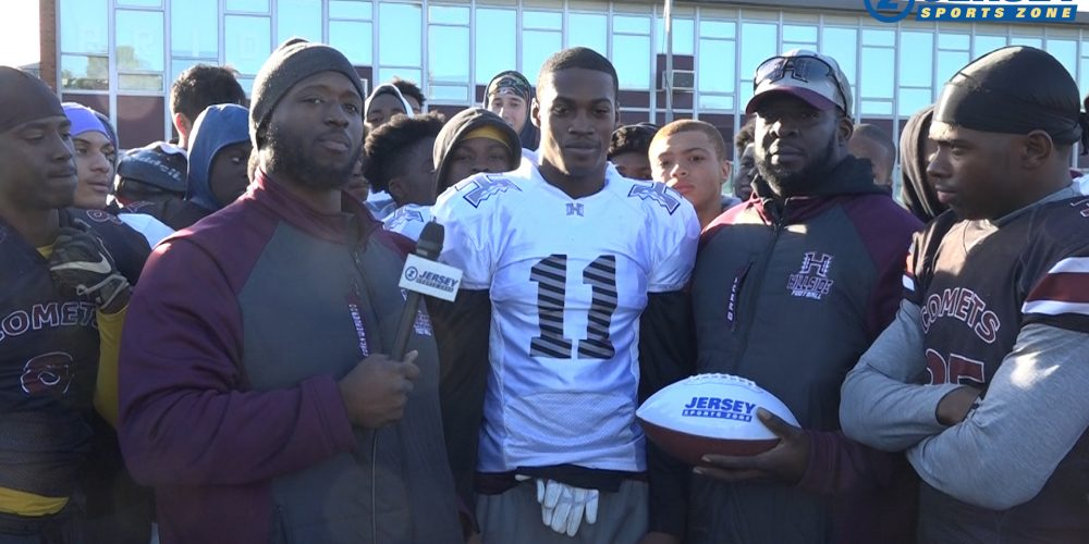 Charles Amissah is Courtney's Week 7 Game Ball Winner