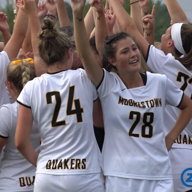 Moorestown's Girls LAX Wins First TOC Title Since 2014!