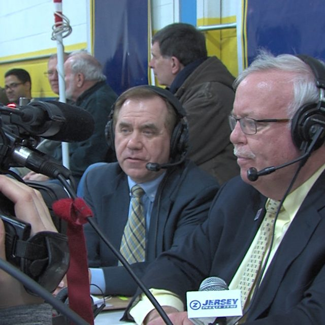 NJ's speaker and Woodbridge Mayor team up in broadcast booth